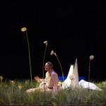 """Emmanuelle Roy, scénographie de """"La Colombe""""."""