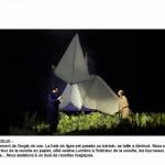 """Emmanuelle Roy, maquette de """"La Colombe""""."""
